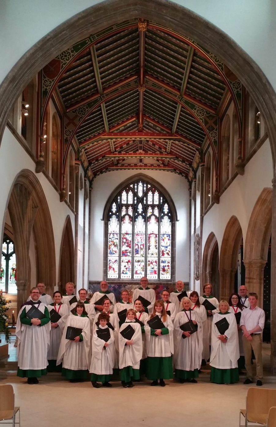 St Stephen's Choir in Chelmsford Cathedral