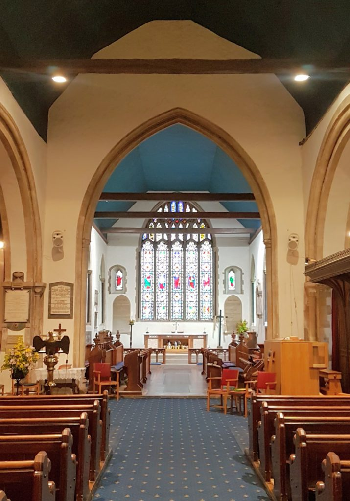 The Crossing and Chancel of St Stephen's Church