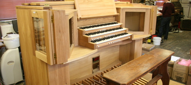 Organ update – April 2014