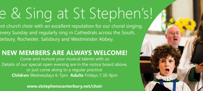 Choir Open Evening and Auditions