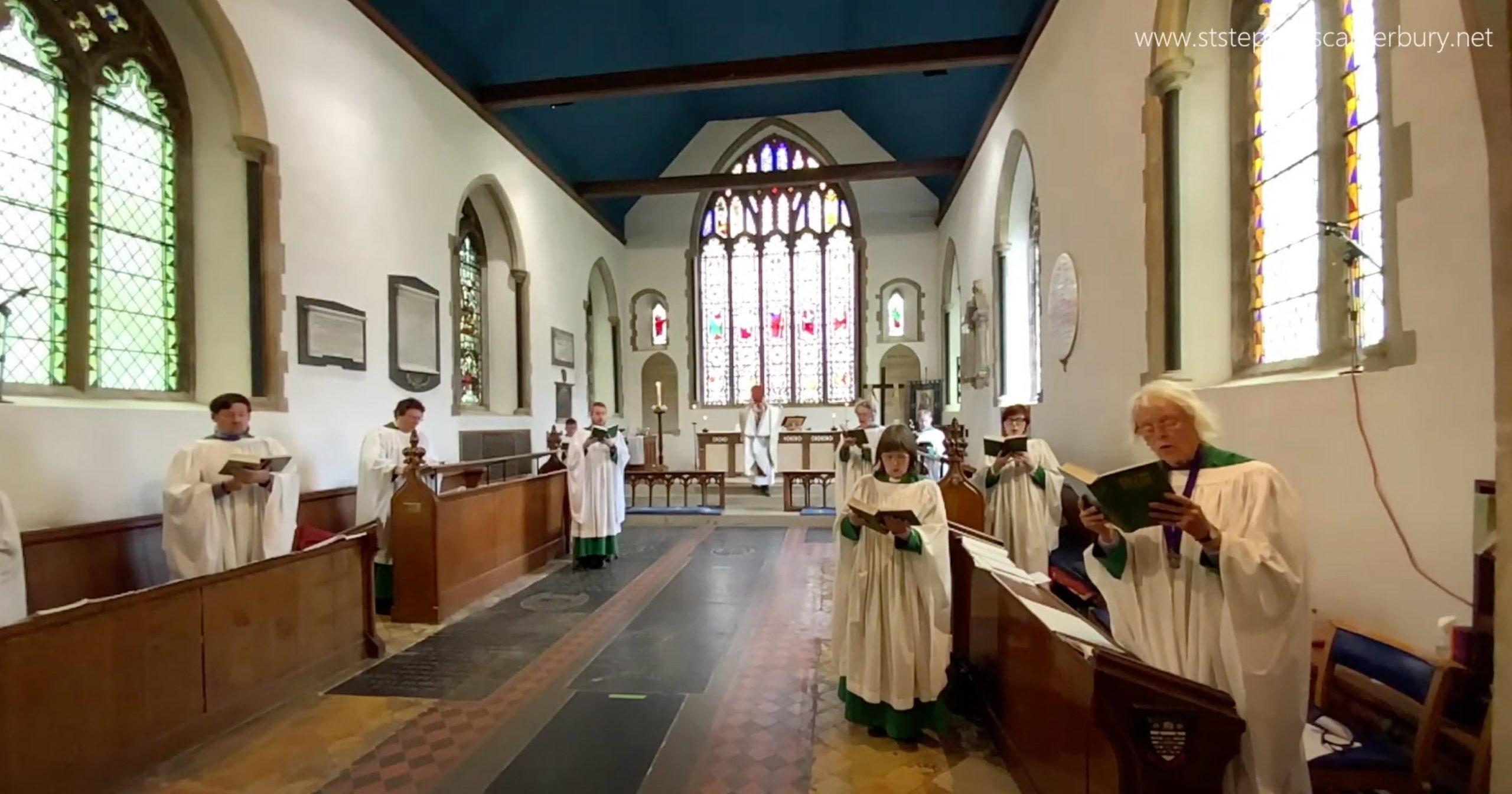 Where have half the choir gone?!