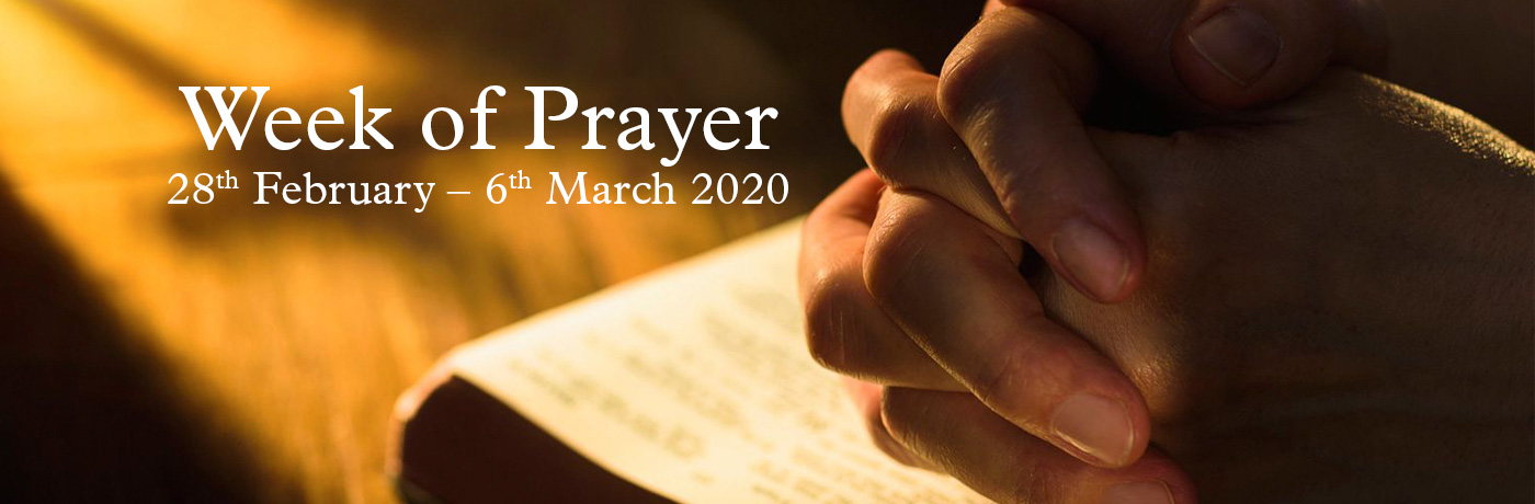 Week of Prayer for Lent